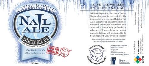La bière la plus chère - Nail Brewing's Antartic Nail Ale