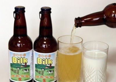 La bière la plus insolite Bilk Lait