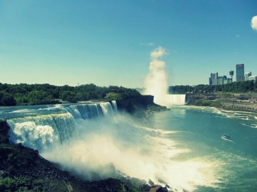 Les Chutes du Niagara, Canada / États-unis