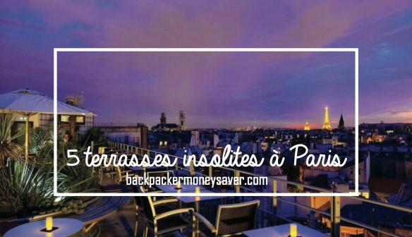 Les 5 terrasses les plus insolites de Paris