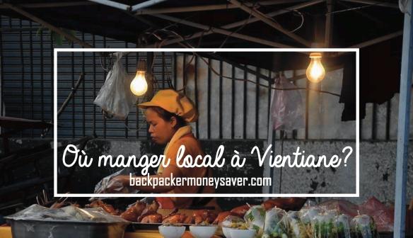 Où manger local à Vientiane