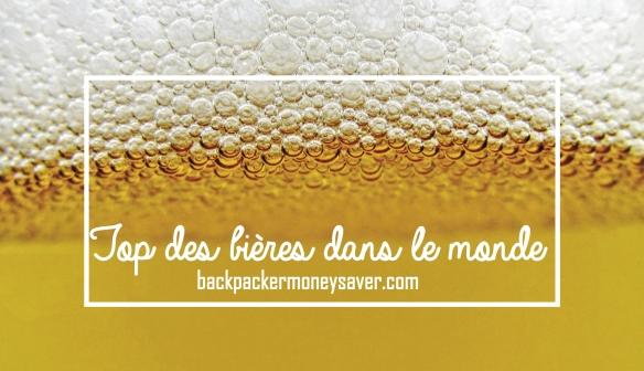 Top 5 des bières dans le monde