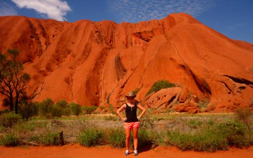 10km Tour Uluru Australie