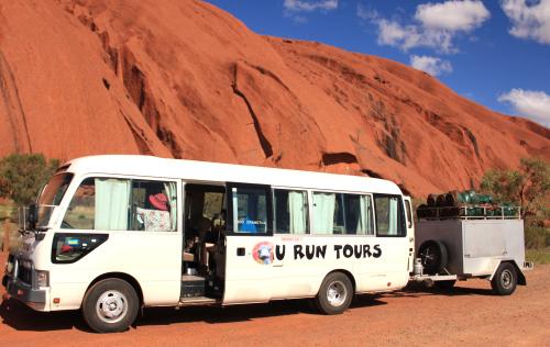 Alice Springs en bus - Uluru Australie