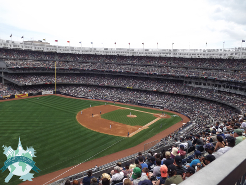 Les Yankees à New York - Yankee stadium