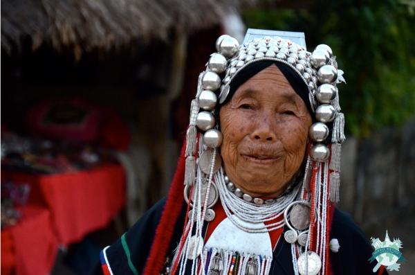 village Akha Pami de Ban Lorcha - tributs montagnardes, originaires de Mongolie