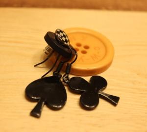 Un bouton pour vos boucles d'oreille