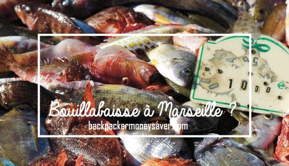 la meilleure bouillabaisse à Marseille