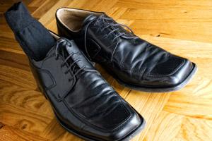 Stocker vos chaussettes et vos ceintures dans vos chaussures