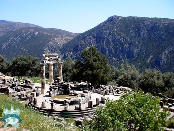 Temple d'Athèna - Grèce Centrale