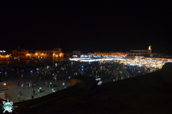 Maroc Place Djema El Fna Marrakech