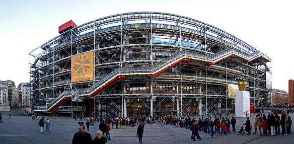 Centre Pompidou - Top 5 des musées les plus visités à Paris