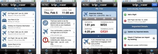 TripCase - Nos 5 applications de voyage préférées !