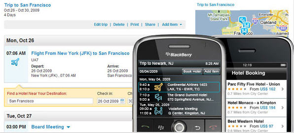 WorldMate - Nos 5 applications de voyage préférées !