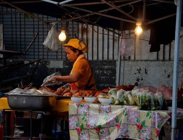 4. Marché de nuit - Où manger local a Vientiane ?