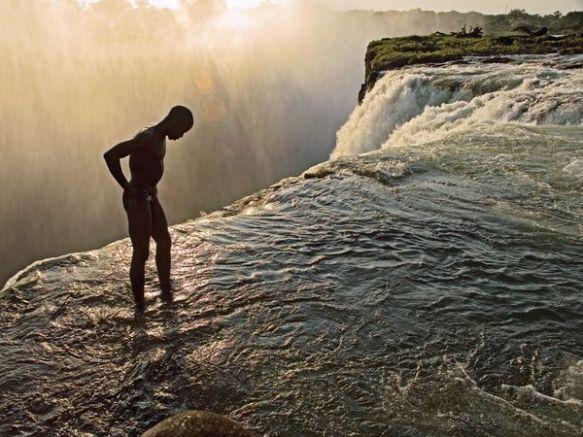 Devil's Pool Victoria Falls, Zambie