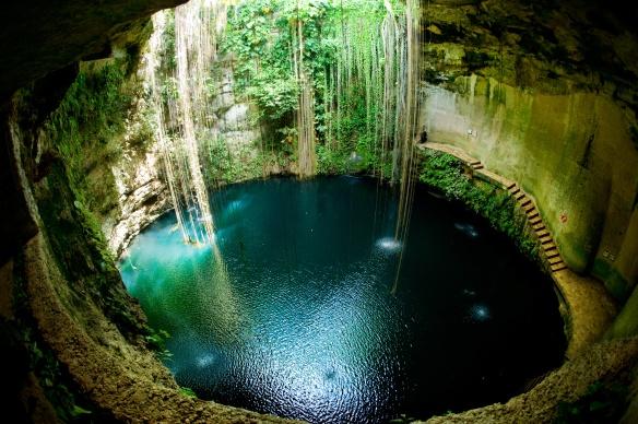Ik Kil Cenote, Mexique