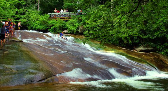 Sliding Rock Brevard, Caroline du Nord