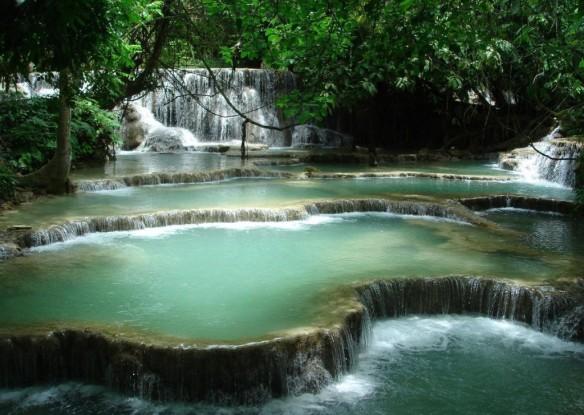 Tat Kuang Si Waterfall - Luang Prabang, Laos