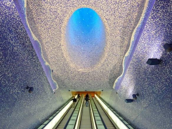 Toledo, Naples, Italie - Les cinq plus belles stations de métro d'Europe