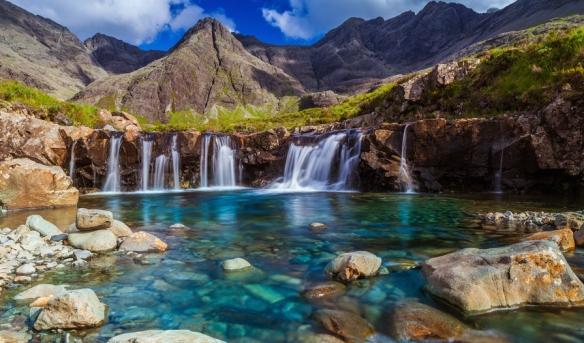 The Fariry Pools Isle of Skye, Écosse