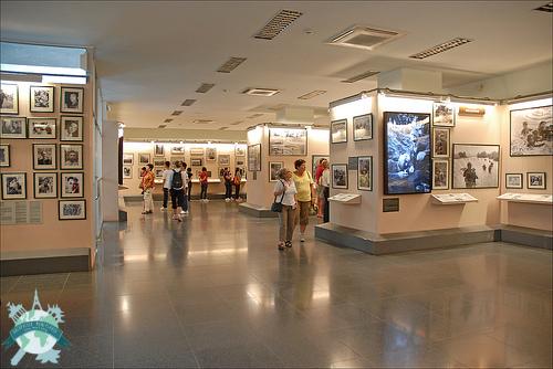 Saigon l'extravagante,  alias Ho Chi Minh Ville - Musée des souvenirs de guerre